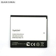 1pcs 100% High Quality TLP025H7 2500mAh Battery For ALCATEL one touch TLp025H7  Freeshipping цена в Москве и Питере