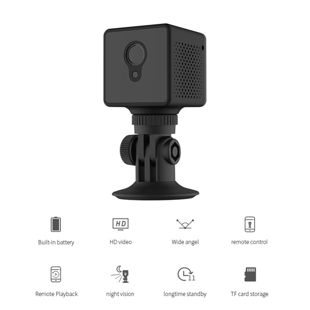 Camsoy Mini Night Vision HD Infrared Motion Detection Camera Wireless Wifi Camcorder IP Micro Video Surveillance Security DVR DV