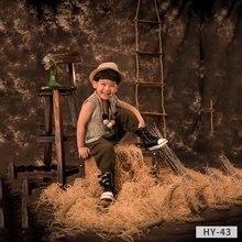 Promocional personalizado Tye-Die Muslin fantasia bebê crianças Fotografia cenário 10X20ft fundos para estúdio de fotografia de casamento