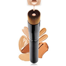 kommen Women Professional Cosmetics Concave liquid foundation brush Powder Foundation Highlighter Contour tool Multifunction smr