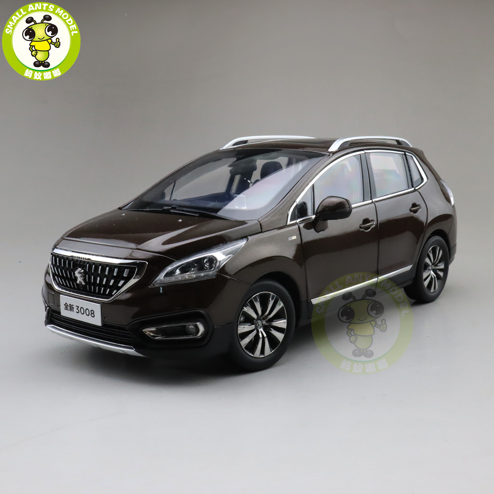 1 18 China Peugeot 3008 SUV Diecast Model Car Suv Toys Kids Boys Girls Gifts Brown
