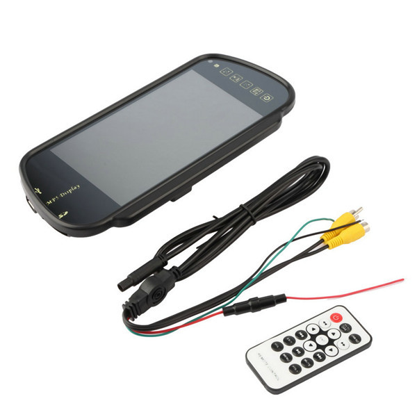 7 Inch TFT LCD Car Mirror MP5 Car Reverse Rearview Touch Screen Monitor for SD USB