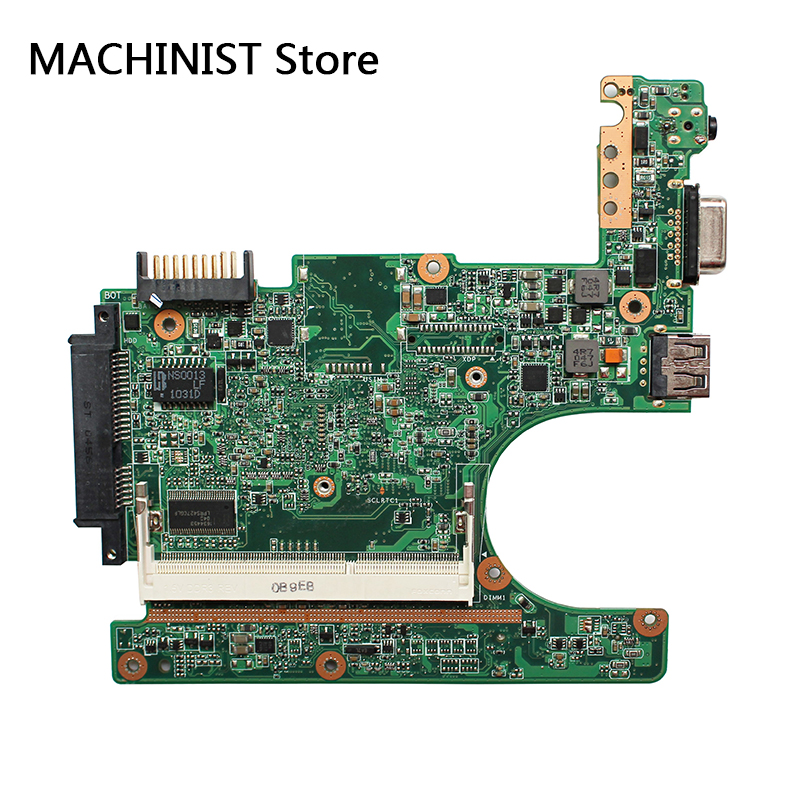 Original For ASUS 1015P laptop notebook motherboard REV1.3G 1.0 DDR3 CPU N550 1