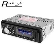 1 Din Coche Reproductor de Mp3 de Audio de Radio FM Estéreo 12 V USB de la Ayuda Pantalla LCD Radio FM para Coche con Mando a distancia SD AUX Car Styling