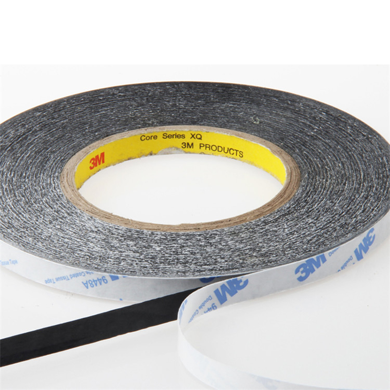 3M 9448AB Black Double Sided Sticky Tape for Samsung/HTC/iphone/ipad Phone Tablet Camera TouchScreen LCD Glass(China)