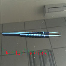 New Straight Tying Forcep 110mm with 6mm tying platform ophthalmic instrument