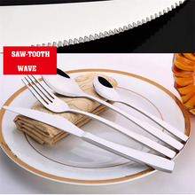TTLIFE 4 Pcs Cutlery High Quality Stainless Steel Flatware Set Tableware Dinnerware Knife Spoon Fork Camping Cooking