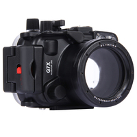 40m 130ft Depth Underwater Swimming Diving Case Waterproof Camera Bag Housing case for Canon G7X Mark II G7 X G7X II, DHL free