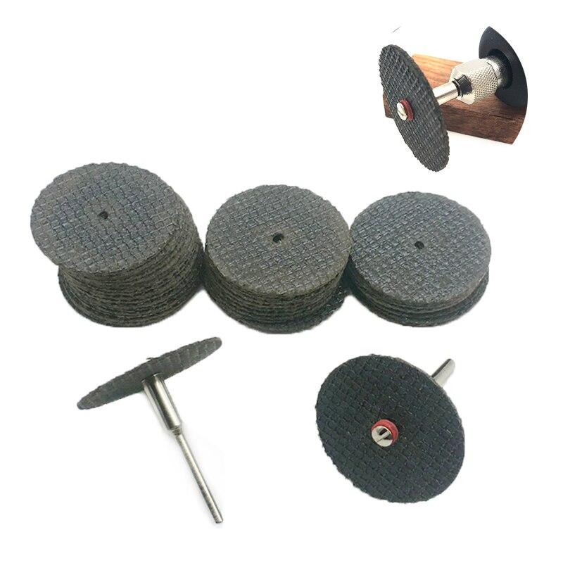 YEODA 32PCS Dremel Accessories For Rotary Tools Cutting Disc For Grinders Fiberglass Reinforced Cut Off Wheel Disc Dremel TooL
