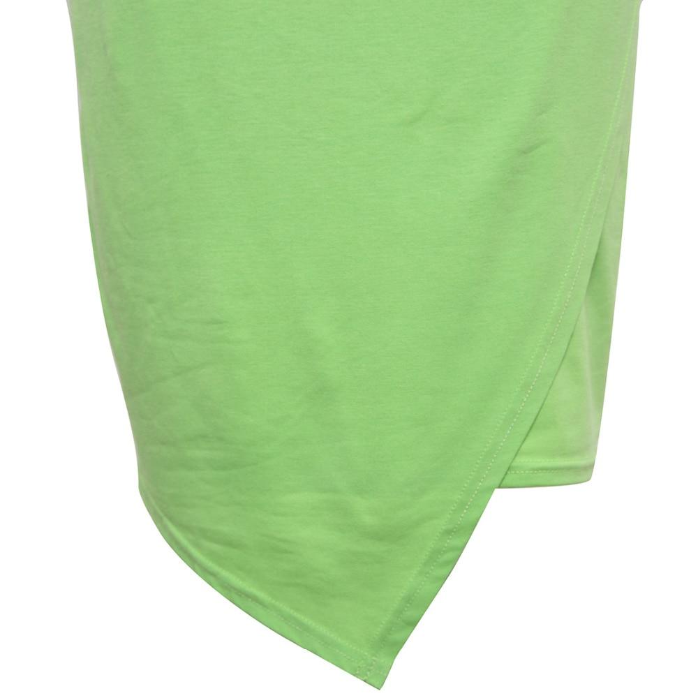 V- պարանոցով կտրված կարճ թև անկանոն - Կանացի հագուստ - Լուսանկար 6