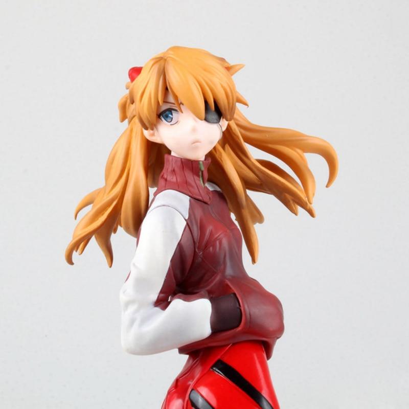Anime EVA Neon Genesis Evangelion Action Figure SORYU ASUKA LANGLEY PVC Sammlung Modell Spielzeug Mit Box Kostenloser Versand