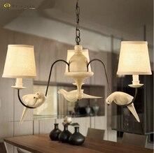 Современный подвесной для украшения дома гостиной потолочный светильник luminarias пункт сала европейский стиль железа с абажур