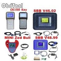 2 Colors SBB V48.99 V48.88 V46.02 Key Programmer Add New Cars Upgrade Than SBB V33.02 Same Function AS CK100 MINI ZED BULL