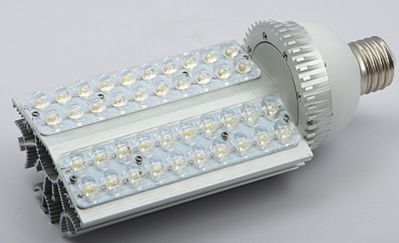 2015 free Shipping:3pcs/lot E40/27 Base Led Street Light Bulbs with 36*1w Power, 85 To 265v Ac Voltage, Ce And Rohs-certified sale ac85 265v 60w led street light ip65 bridgelux 130lm w led led street light 3 year warranty 1 pcs per lot