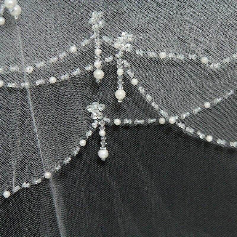 Κοντά Βραδινά Βέρια Τούλι - Αξεσουάρ γάμου - Φωτογραφία 5