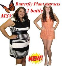 2 bottles 72 days supply diet product butterfly wild plant botanic extracts gels fat burner
