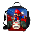 2015 Fashion Cute Cartoon Bag Super Mario Cooler Lunch Bag For Kids Boys Girls School Thermal Insulated Lunch Bag For Children