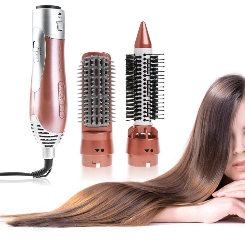 KEMEI High Quality 2 in 1 Styling Tool Hair Dryer Curler Comb Salon Blower Multi-functional Electric Hair Modeling Set momentum 1m dv07bb0 page 6