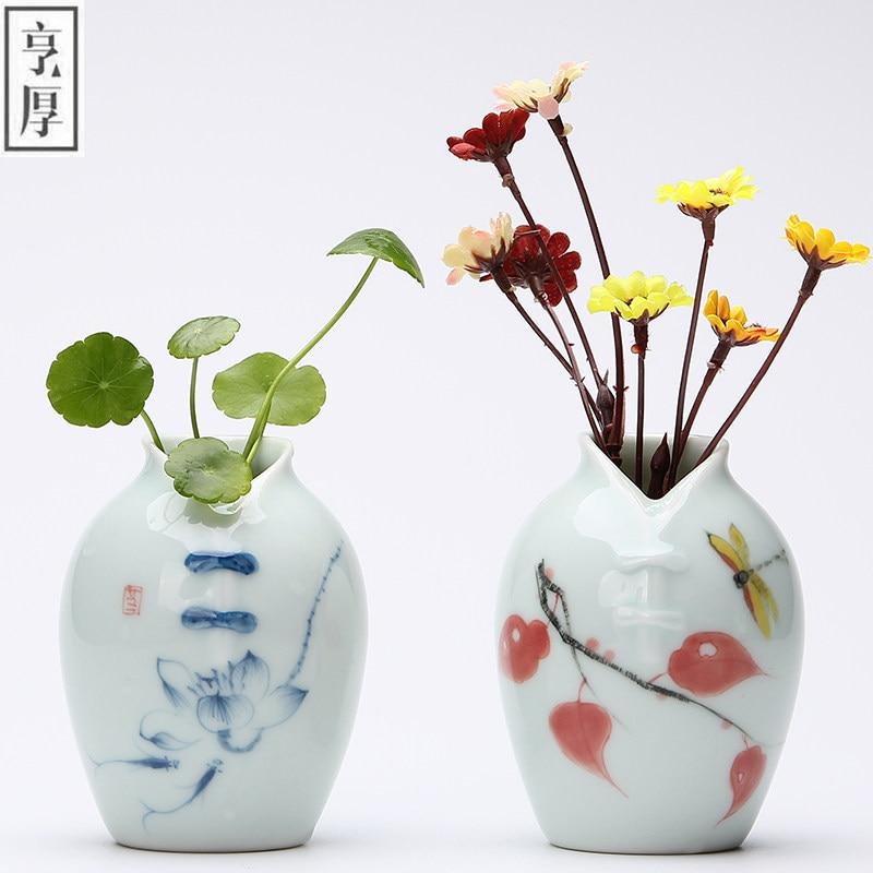 2018 Vintage Home Decoration Vases Antique Ceramic Flower