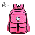 Cute cartoon school bag for girls pink lovely color backpack school girls character backpack back to school backpack