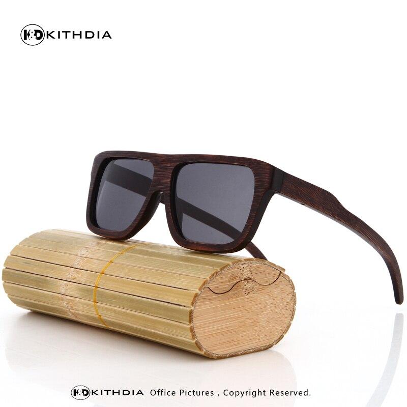71120a7aaa8 KITHDIA Wood Sunglasses Men Brand Designer Polarized Driving bamboo  Sunglasses Wooden Glasses Frames Oculos De Sol Feminino