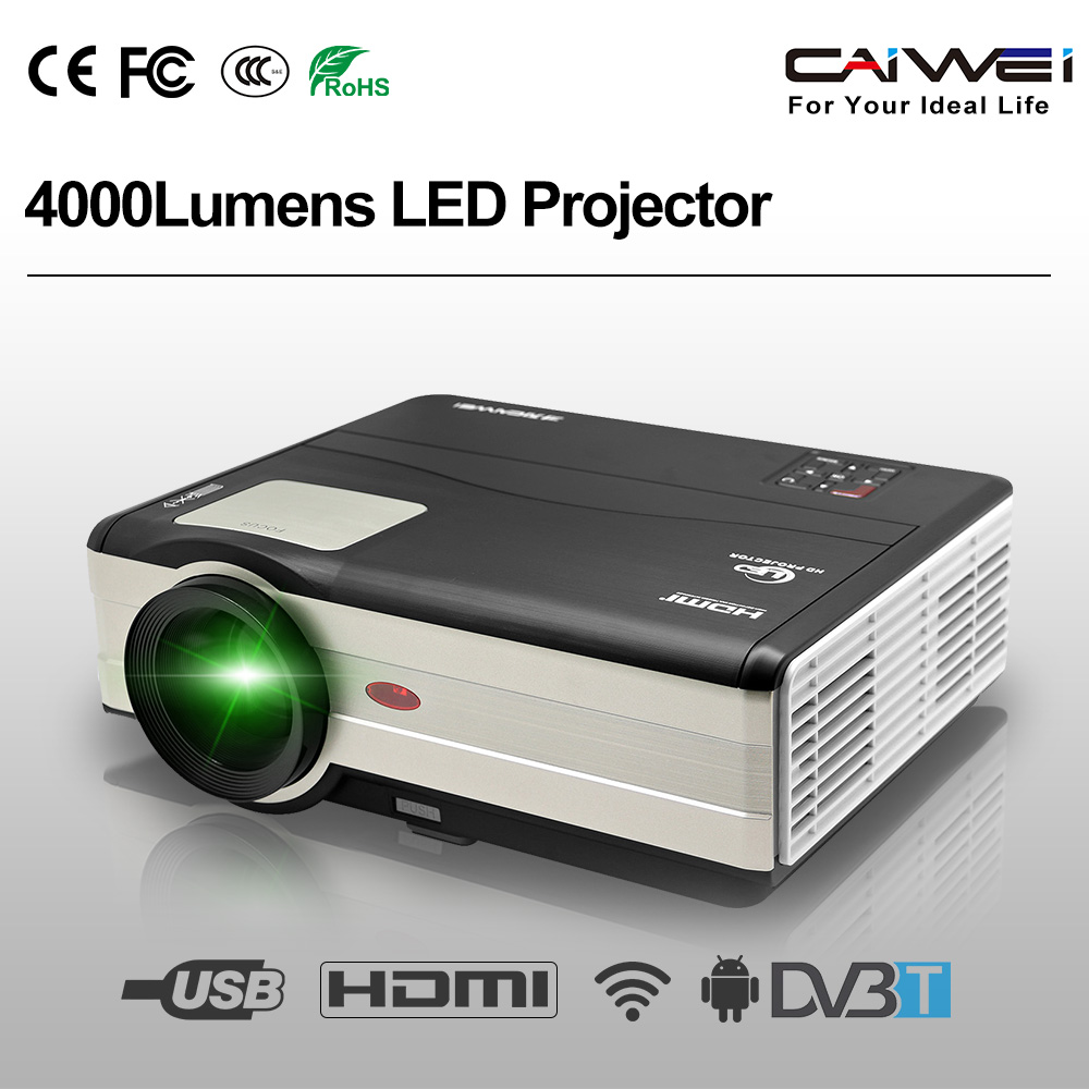 CAIWEI A8(AD) LED Projector WiFi Support HD 1080P 3D HDMI USB VGA DVB-T2 Home Cinema Projector Digital LCD Projector Proyector revlon professional sm лак средней фиксации hairspray modular 500 мл