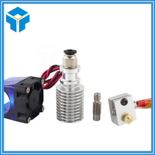 Full Kit 1.75mm 12V Bowden/RepRap 3d printer extruder parts accessories 0.2/0.3/0.4/0.5mm Nozzle ekstruder