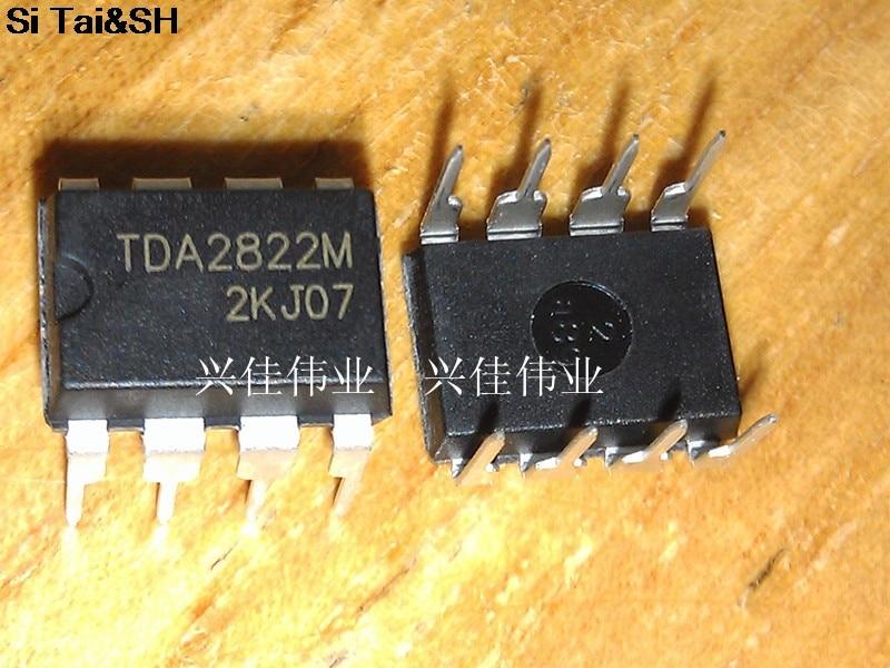 5pcs/lot TDA2822 TDA2822M DIP 12V Original and new IC