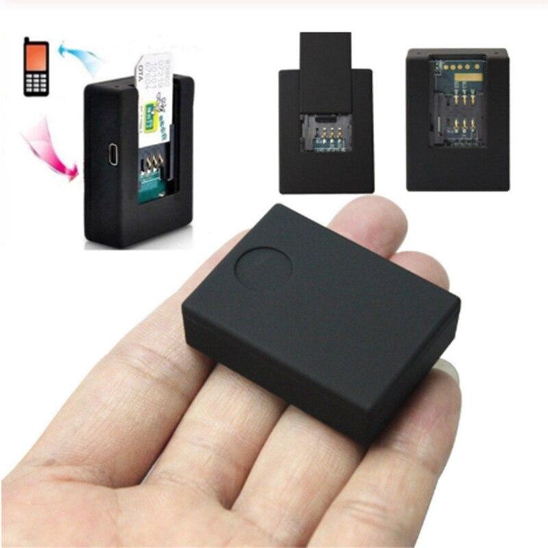 Gsm dispositivo de escuta no alarme acústico mini gsm monitor sistema de vigilância por voz quad band 2 mic two-way resposta automática