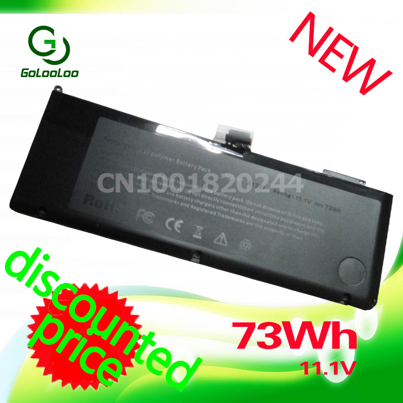 Golooloo 11.1V 73WH A1321 Replacement Battery For Apple MacBook Pro 15
