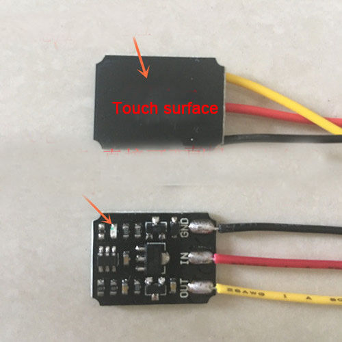 DC12V Elektronische Schalter Steuerrelais Bistabile Trigger Aktion Modul