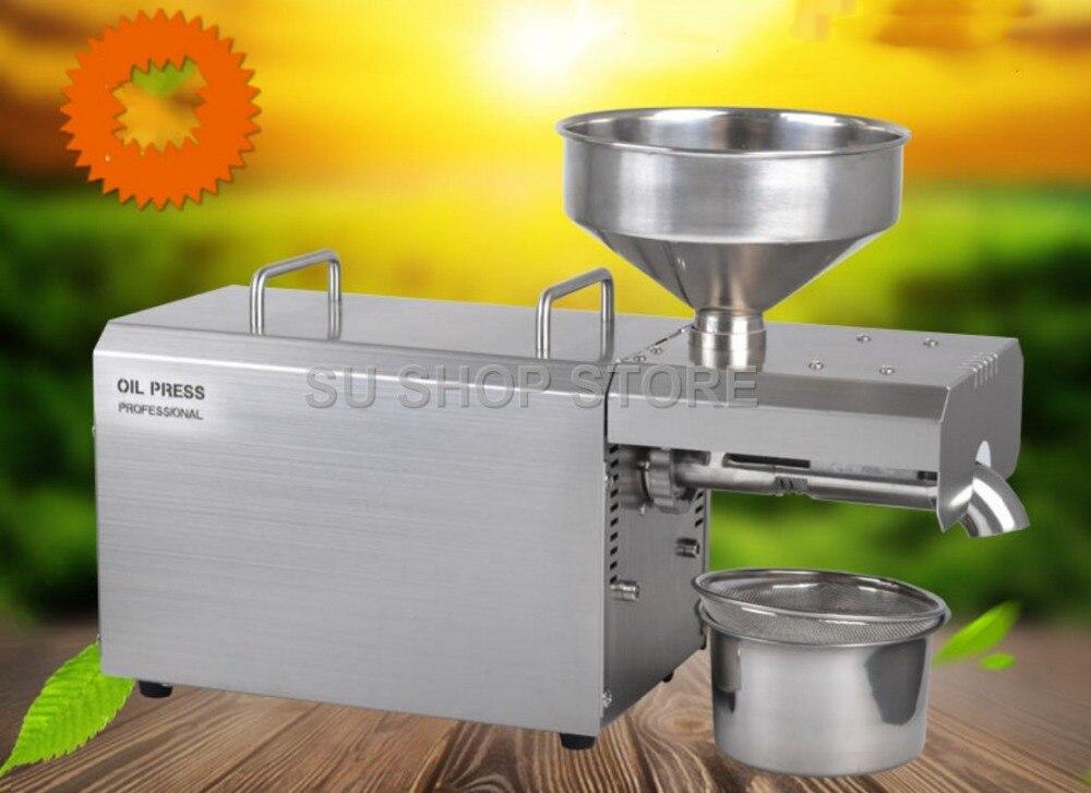 Multifuncional máquina da imprensa de óleo para a máquina da imprensa de óleo preço de fábrica ferramenta/1500 W bagaço de óleo para venda