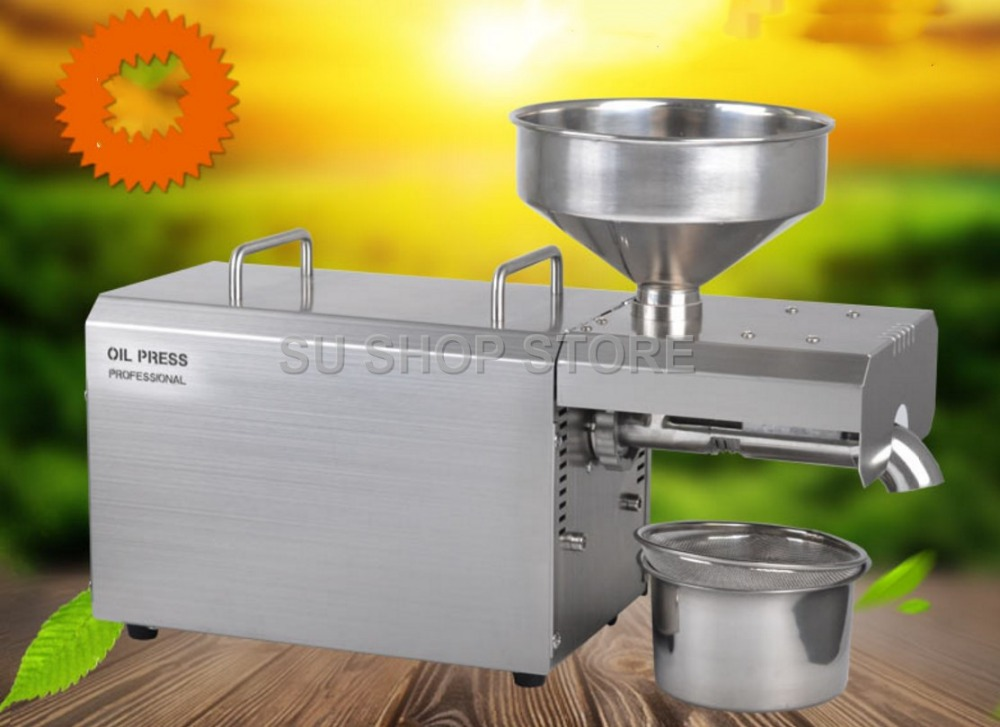 Multifunctional oil press machine for factory price oil press machine tool/1500W oil expeller for sale 5m strong waterproof adhesive double sided foam tape car trim plate width 6 9 12 19 25 38 50mm