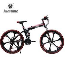 KUBEEN BEGASOO mountain bike 26 inch steel 21 speed font b bicycles b font dual disc