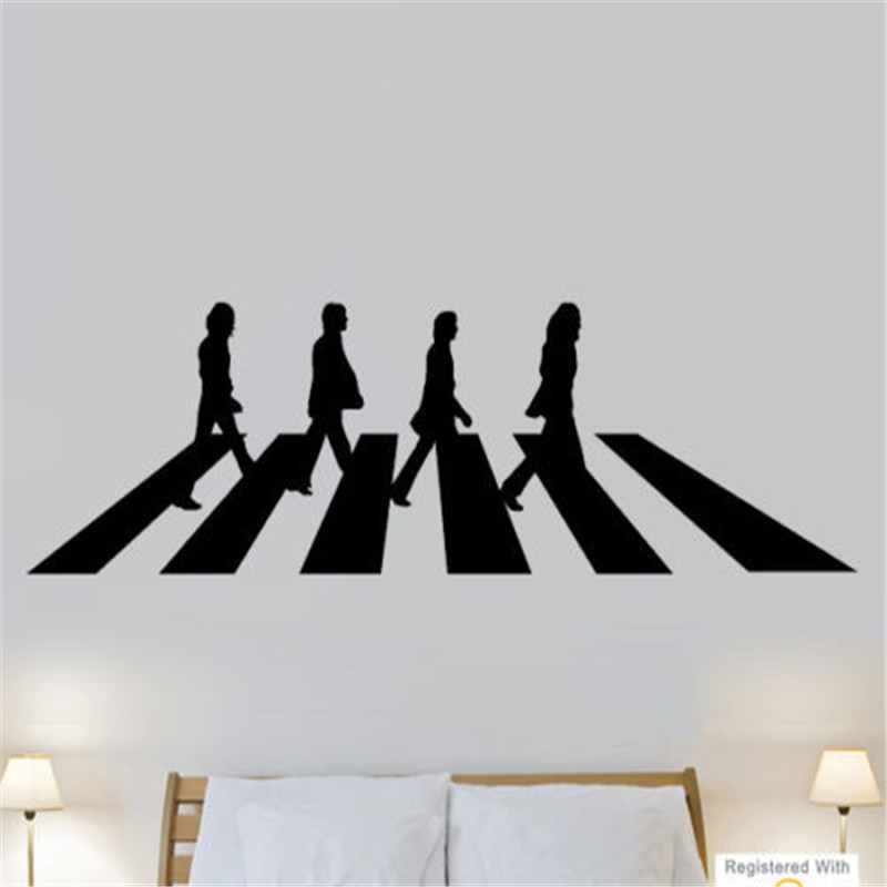 Abbey road beatles vinyl promotion shop for promotional for Beatles abbey road wall mural