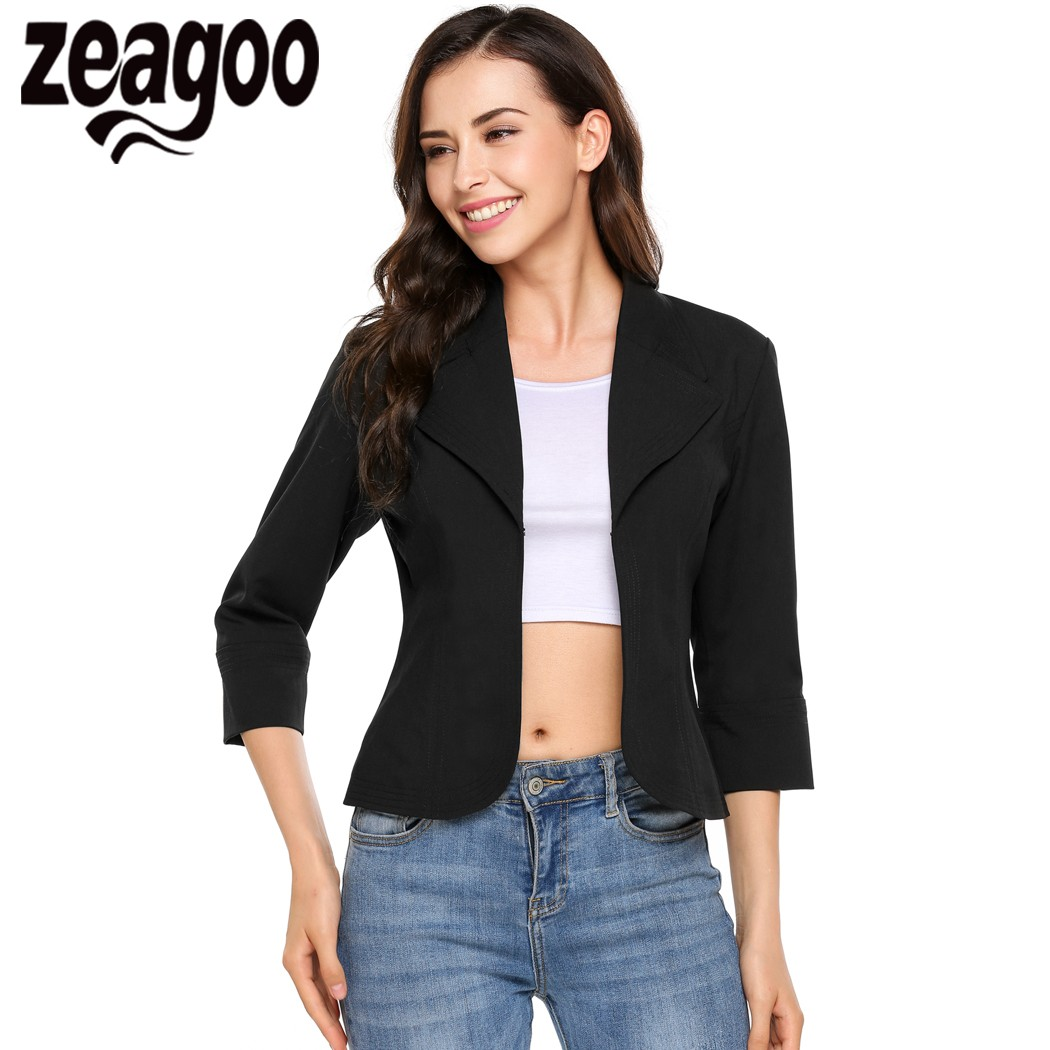 Women's Casual Fitted Blazers