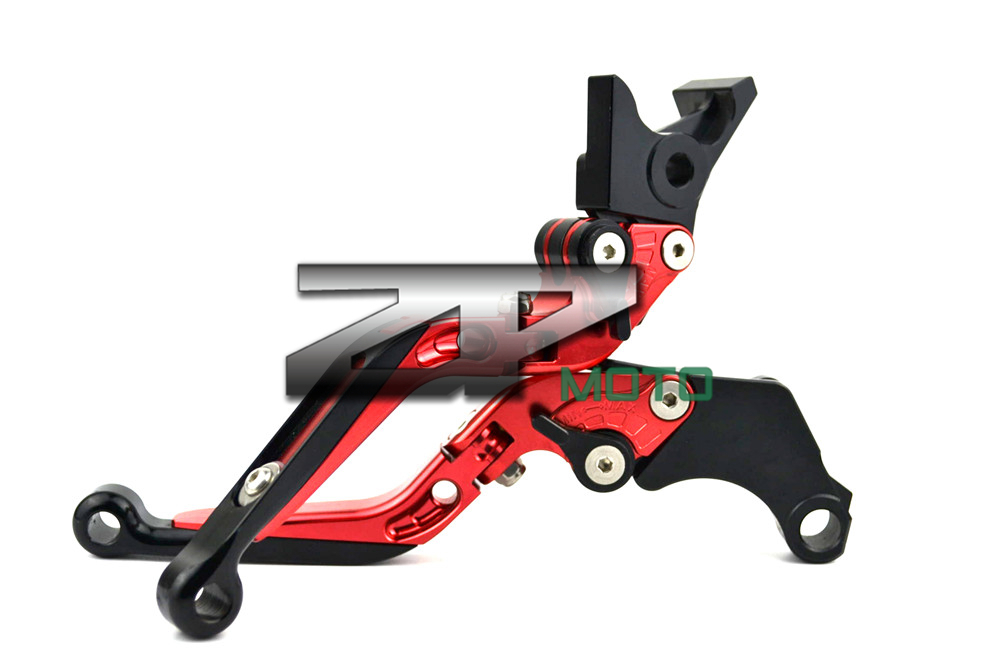 Adjustable Folding Extendable Brake Clutch Levers For Honda CB400 02-08 CBR400 NC23 NC29 BROS400 8 Colors billet alu folding adjustable brake clutch levers for motoguzzi griso 850 breva 1100 norge 1200 06 2013 07 08 1200 sport stelvio