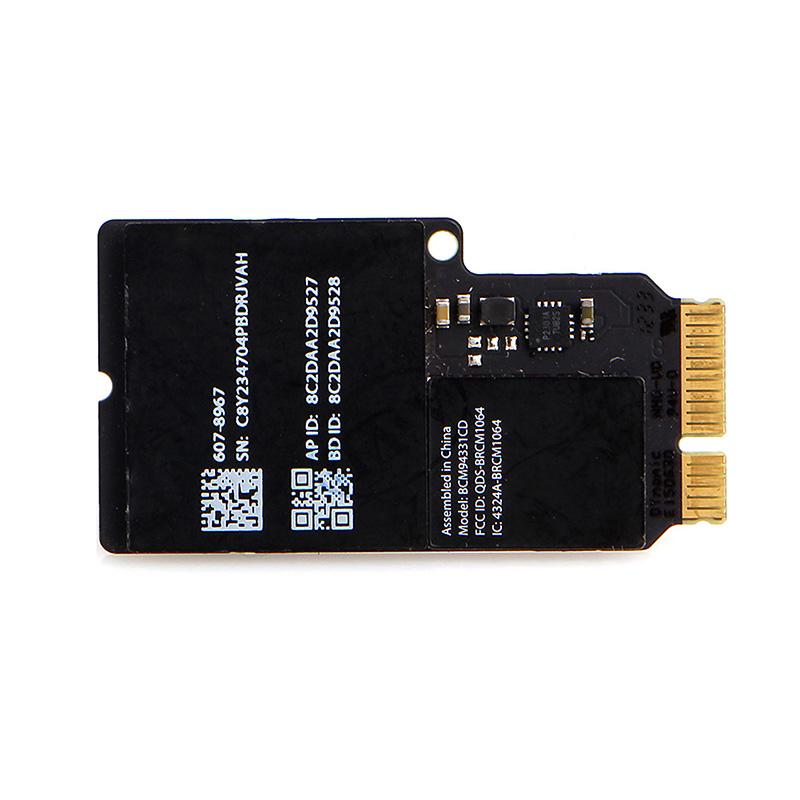 US $7 53 16% OFF|Dual Band BT 4 0 Wireless Card BCM94331CD For Apple iMAC  A1418 A1419 MacBook-in Network Cards from Computer & Office on