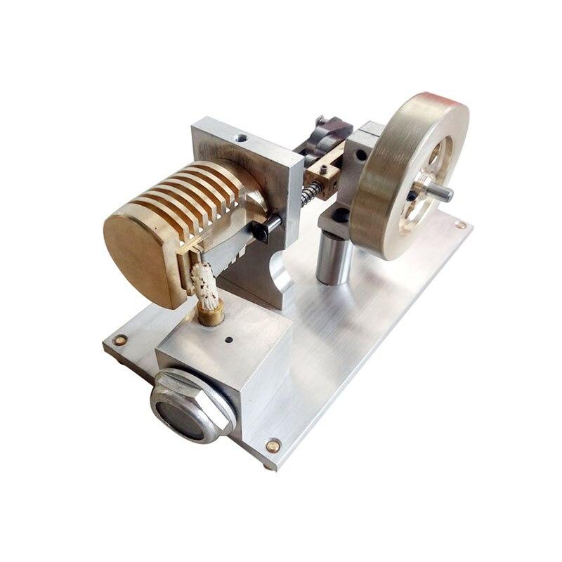 Accessoires de modèle de moteur Stirling allumant le moteur de moteur de puissance en métal complet jouet miniature de vapeur