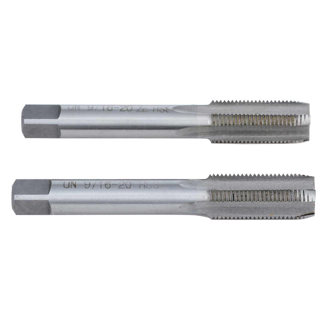 Mayitr 2PCS Left Right 9 16 20 TPI Taper Pipe Tap Unified USA