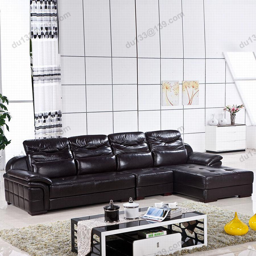 Relax Contemporary Italian Corner Sofa In Cream Leather: Big Modern Latest Novel Home Center Relax Black Corner