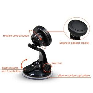 Image 5 - Support pour voiture à aimant universel support pour téléphone Mobile magnétique support pour téléphone Smartphone accessoires