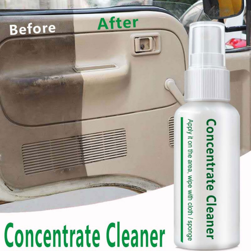 Car Interior Cleaner Inner Dashboard Cleaner High Concentration Spray Care For Car Interior Accessories