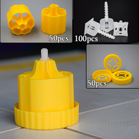 CN ZF Kits Plastic Ceramic Alignment Floor Cross Spacers Levelers Tools Tile Leveling System Caps Clips