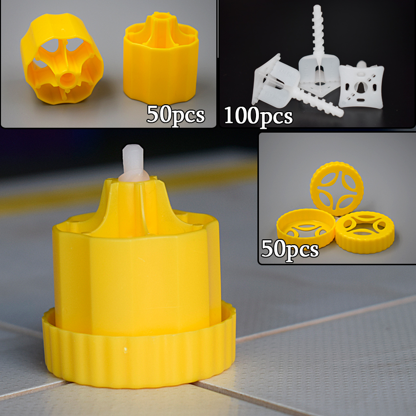CN-ZF Kits Plastic Ceramic Alignment Floor Cross Spacers Levelers Tools Tile Leveling System Caps Clips Fixtures For Tiles