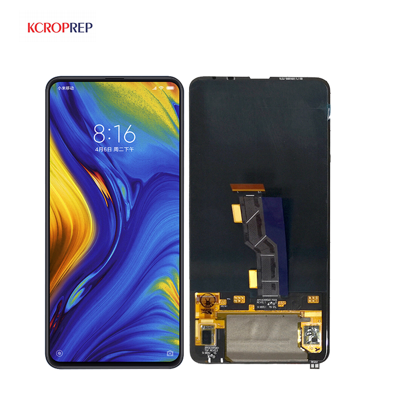 Xiaomi Mi Mix 3 LCD Display Touch Screen Digitizer Assembly With Frame For 6 4 Xiaomi