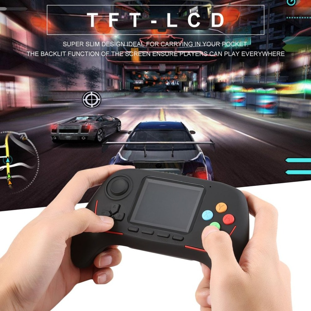 16 Bit Built-in 788 In 1 Handheld Game Player Digital Pocket Game HD Rocker Eyecare Cartridges Video Game Console For Kids Child