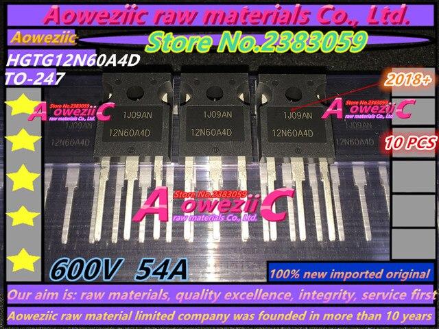 Aoweziic 2018 + 100% nuovo originale importato HGTG12N60A4D 12N60A4D NGTB50N60FLWG 50N60FL FDL100N50F 100N50F TO 247 transistor