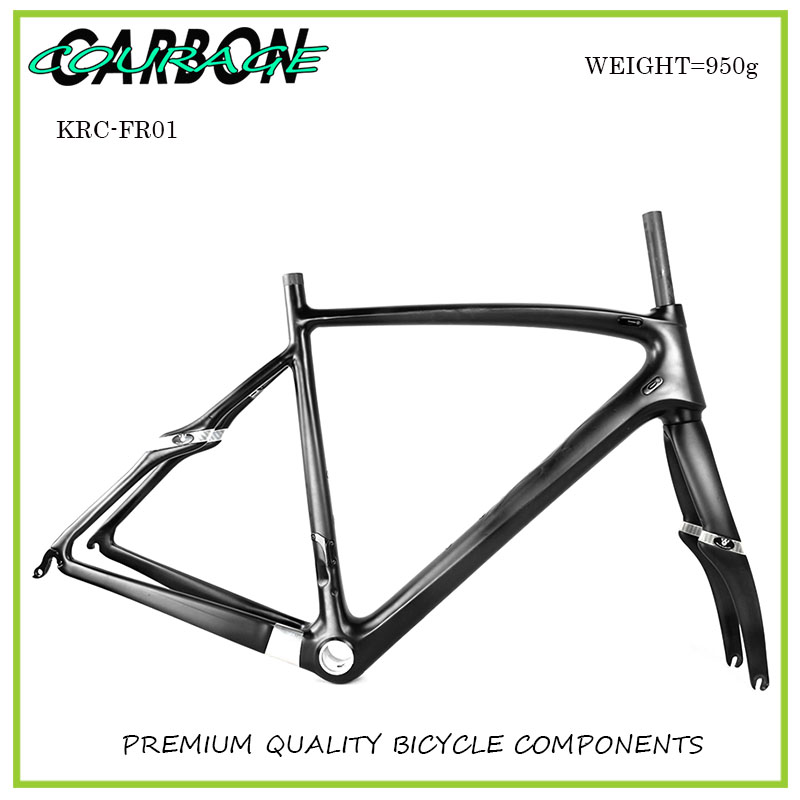 Carbon Road Bike Frame Super Light carbon road Frame+Fork+headset carbon bicycle frame