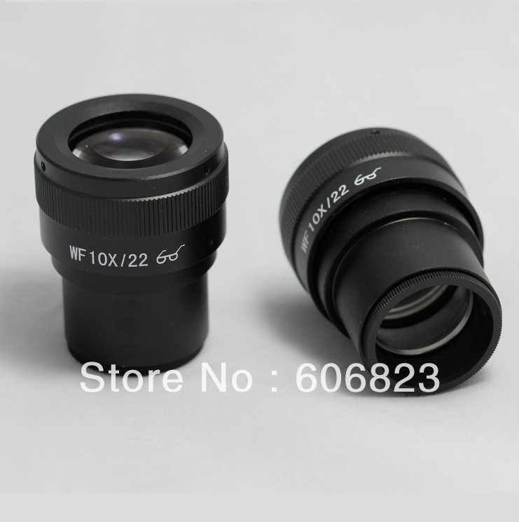 ФОТО Brand New Pair WF10X/22 Diopter-adjustable Eyepieces for stereo microscope high-point design !